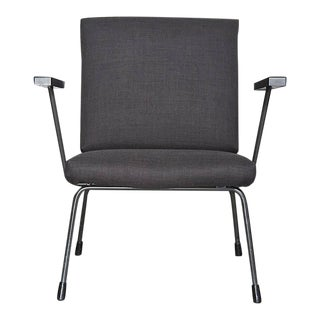 Wim Rietveld No.9 Lounge Chair for Gispen in Black