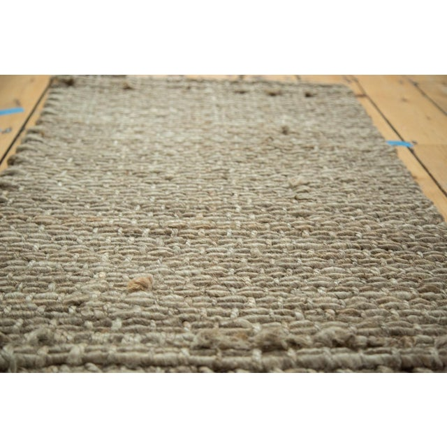 """Hand Braided Grey Entrance Mat - 2'1"""" X 3'3"""" - Image 2 of 2"""