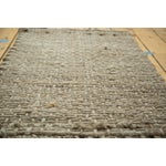 "Image of Hand Braided Grey Entrance Mat - 2'1"" X 3'3"""