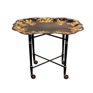 Vintage Rolling Serving Bar or Tea Cart