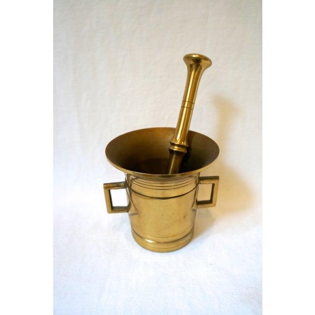 Brass Mortar & Pestle - Image 5 of 5