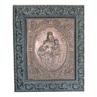 17th Century Beautiful Signed & Dated Christian Relic
