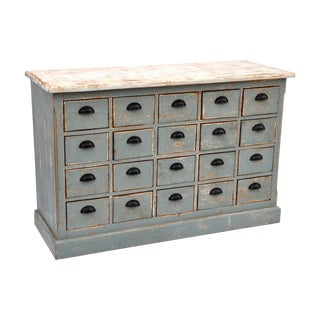 Dorchester Apothecary Cabinet in Gray