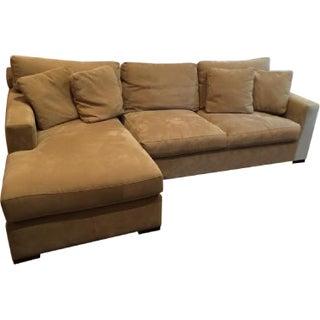 Crate & Barrel Axis II Sofa & Chaise