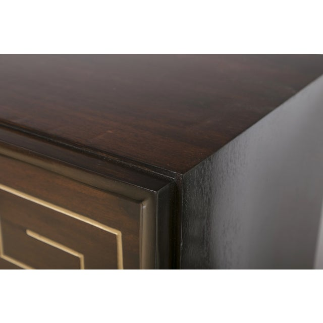 Tommi Parzinger Style Gold Detailed Sideboard - Image 10 of 10