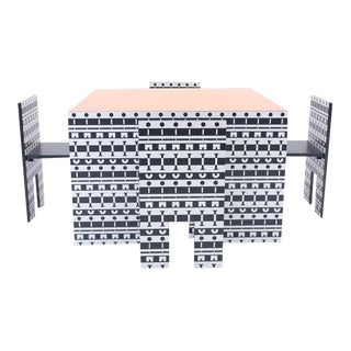 Alessandro Mendini and Alessandro Guerriero Table and Chairs