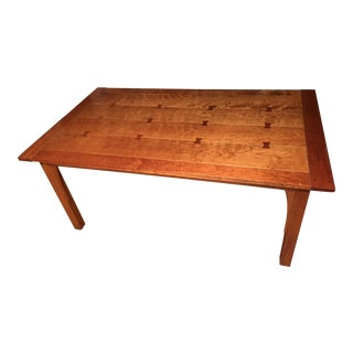 Stickley Wooden Dining Table