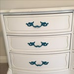 Image of Vintage White Shabby Chic Country Dresser