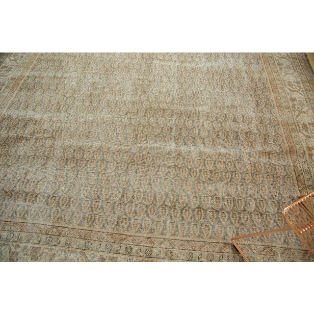 "Vintage Distressed Oushak Carpet - 8'11"" x 12'6"" - Image 5 of 10"