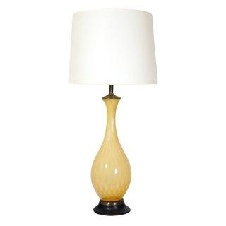 Murano Honey Glass Table Lamp