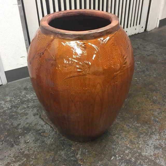 Large Glazed Finish Pottery - Image 3 of 9