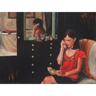 Delia Brown Oil Painting, 2012