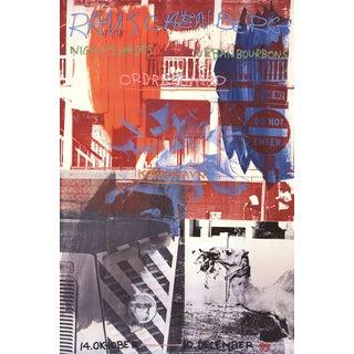 Robert Rauschenberg, Night Shades + Urban Bourbons, 1995 Poster