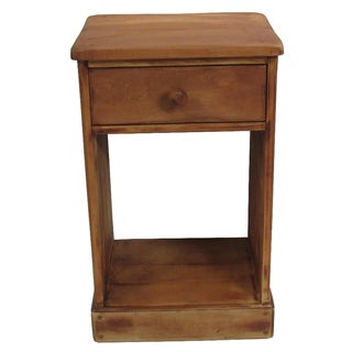 1930s Rustic Cottage Accent Table