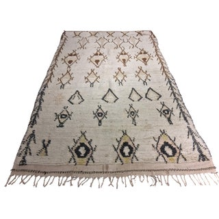 "Bellwether Rugs Vintage Moroccan Azilal Rug - 4'9"" X 8'2"""