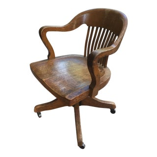 Vintage Traditional Office Chair