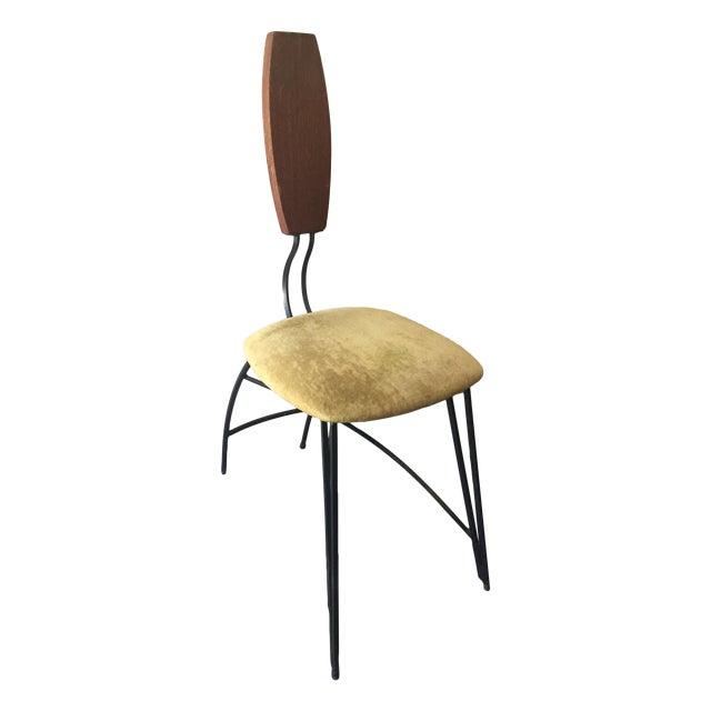 Image of Mid Century Modern Folk Art Chair