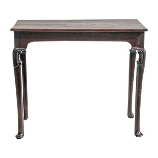 Antique 18th C. English Queen Anne Console Table