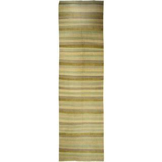 Vintage  Turkish Handwoven Kilim - 4′4″ × 15′8″