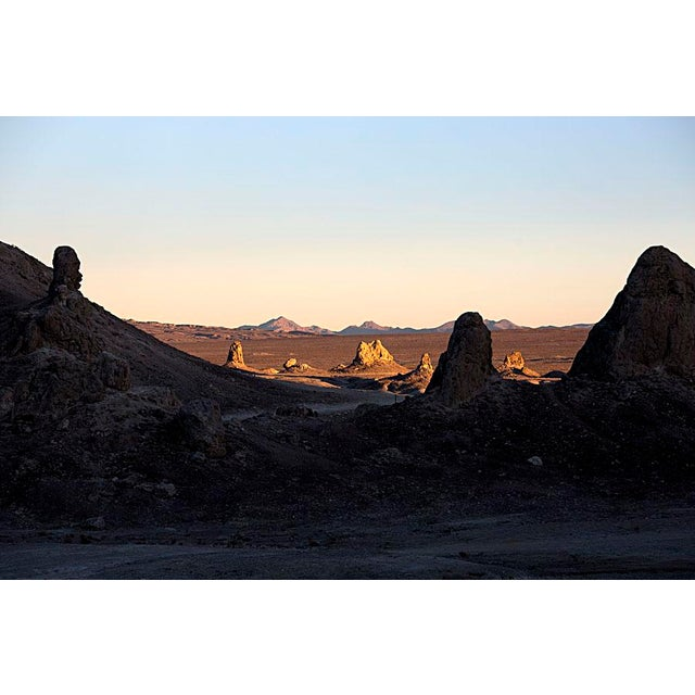 Image of Trona Pinnacles Photograph by Young Lee
