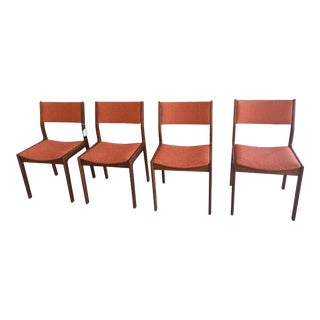 Mid-Century Teak Dining Chairs - Set of 4