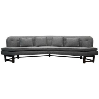 Large Mid Century Janus Sofa by Edward Wormley for Dunbar