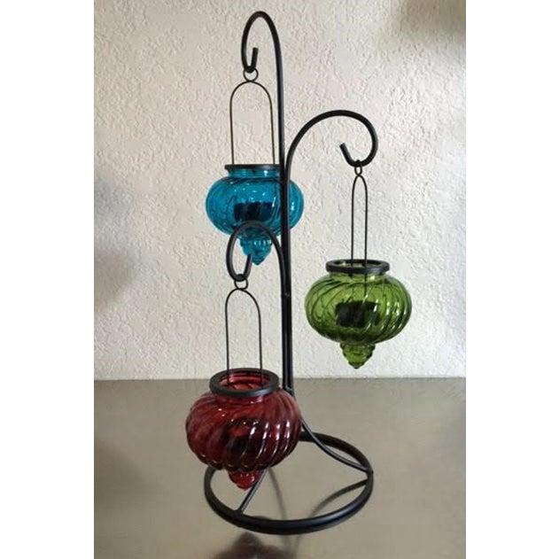 Moroccan Hanging Tea Light Holder Chairish