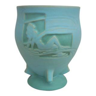 Roseville Silhouette Cachepot Vase