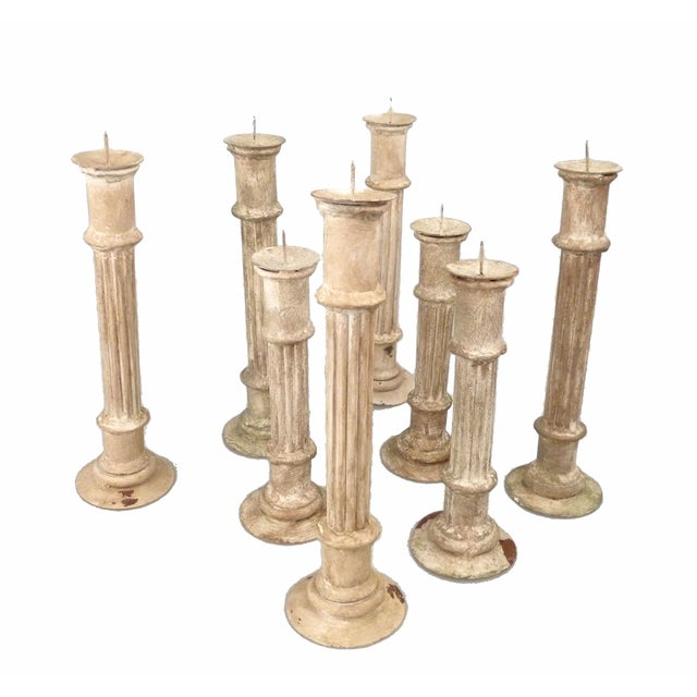 Classical Column Candlesticks - Set of 8 - Image 4 of 7