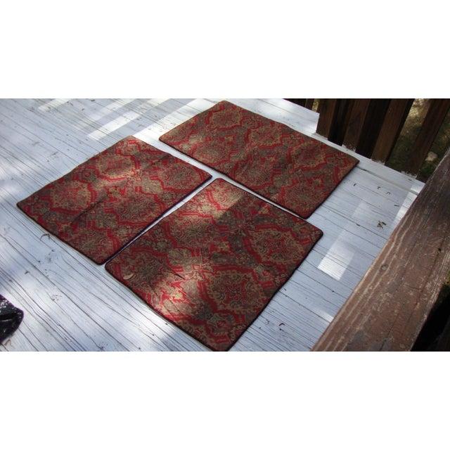 Turkish Kilim Moroccan Floor Pillows - Set of 3 Chairish