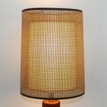 Image of Esa Denmark Vintage Teak Lamp