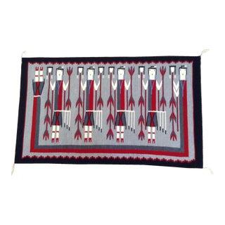 Navajo Yei Weaving Rug - 2′6″ × 4′2″