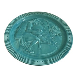 'New York Worlds Fair' Pottery Plate