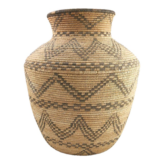 Apache Basketry Olla, circa 1890 - Image 1 of 7