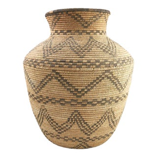 Apache Basketry Olla, circa 1890