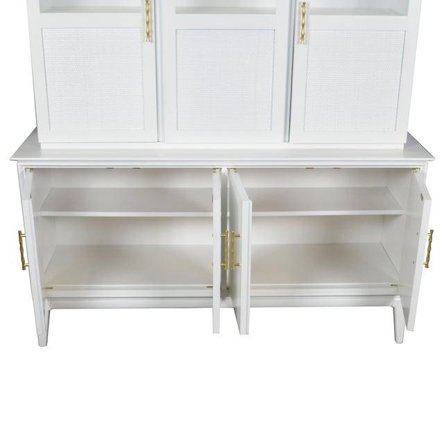 Midcentury Rattan Cabinet - Image 4 of 4