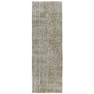Floral Overdyed Carpet | 2'5 x 7'9 Runner