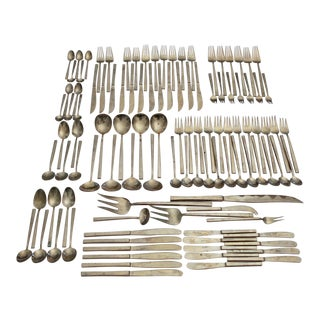 Minimalist Bronze Flatware - Set of 111