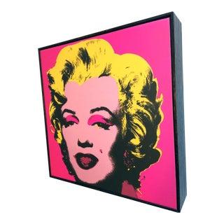 Box Framed Andy Warhol Marilyn Print