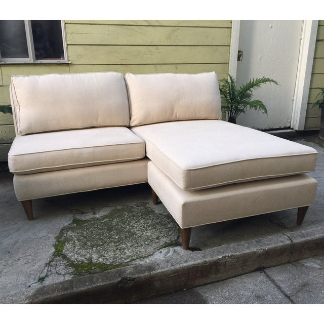 Image of Custom Modern Seat With Chaise