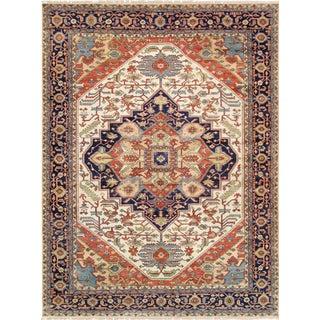 """Pasargad Serapi Lamb's Wool Area Rug- 8'11"""" X 12'"""