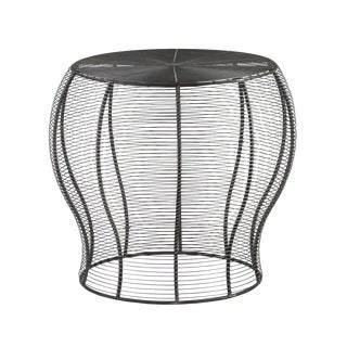 Iron Wire Side Table
