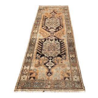 Vintage Persian Malayer Runner - 3′3″ × 9′3″