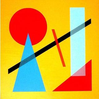 Classic I by Jaro (Geometric Acrylic Painting on Canvas)
