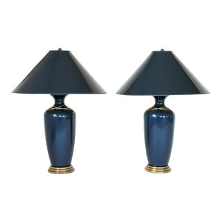 Frederick Cooper Tyndale Lamps - a Pair