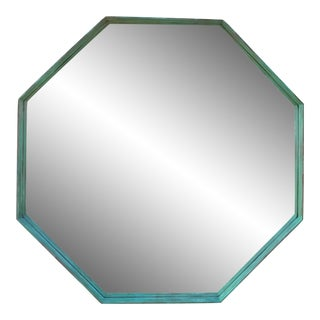 Architectural Bronze Hexagon Mirror