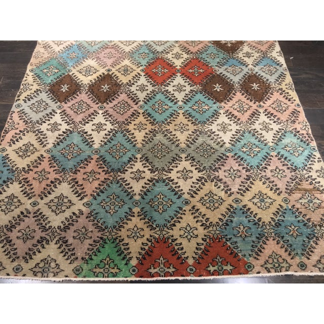 Image of Turkish Deco Rug - 5′11″ × 7′8″