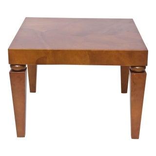 """American Modern """"Goatskin"""" Occasional Table, Karl Springer"""
