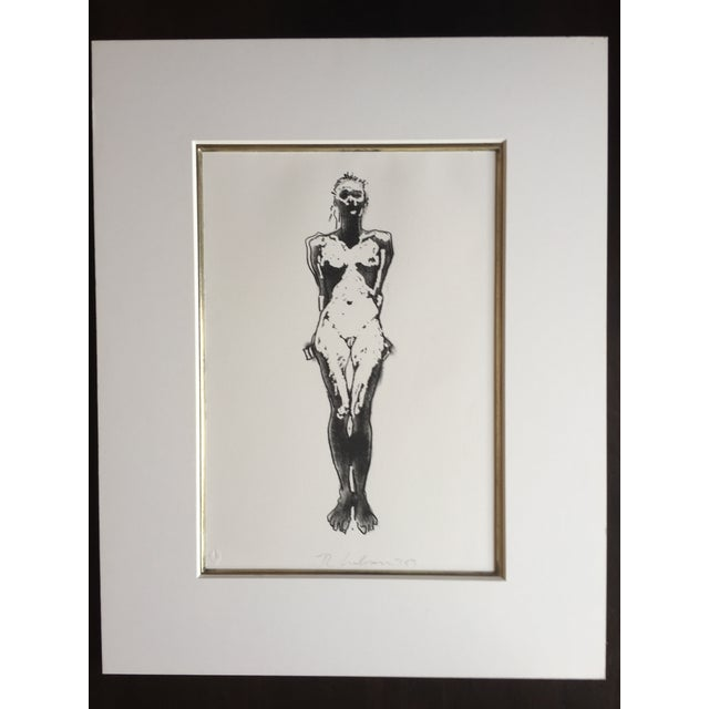 Fine Art Nude Etching - Image 2 of 4
