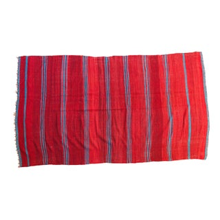 "Vintage Kilim Carpet - 5'3"" X 9'4"""